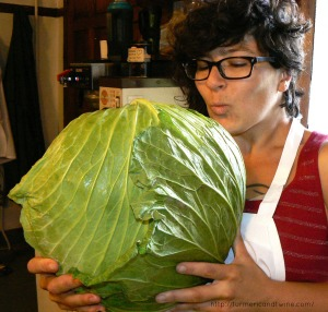 Cabbage kiss