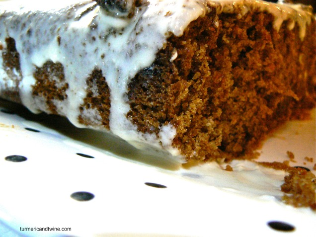 Gluten Free Carrot Cake With Maple Cream Cheese Icing 2