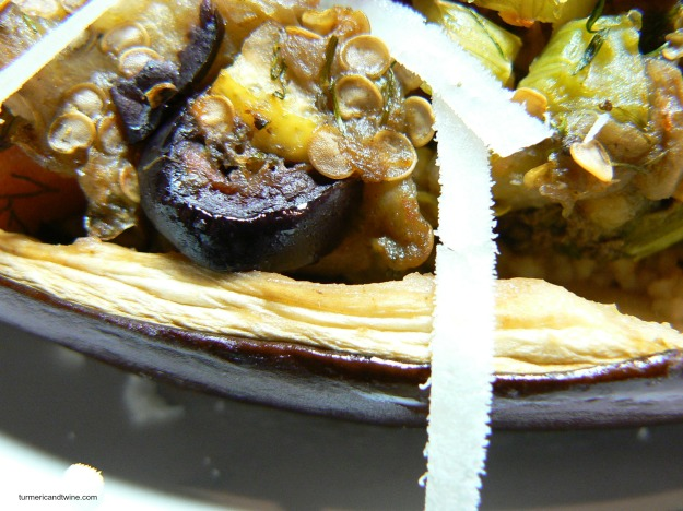 vegetarian stuffed eggplant bite 2