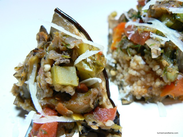 vegetarian stuffed eggplant bite 4