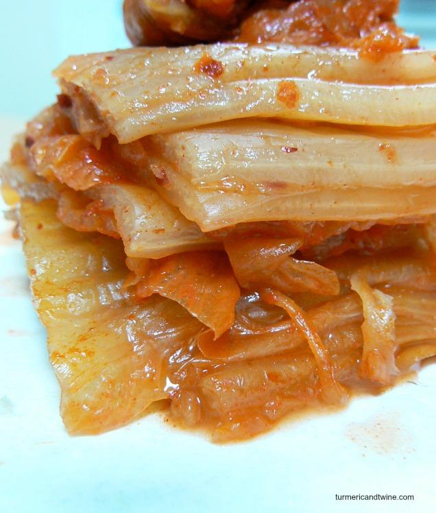 mukeunji kimchi