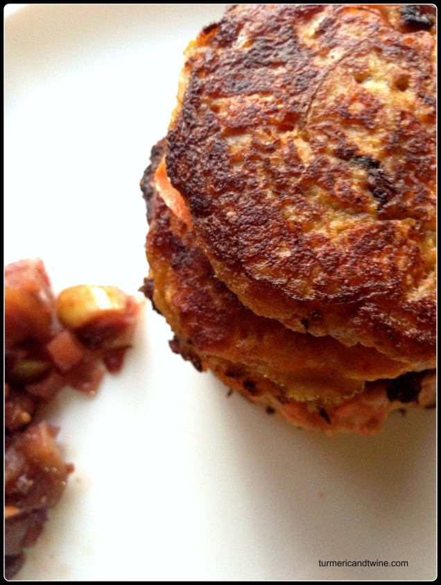 carrot potato latkas stack Wwoof CSA farm share