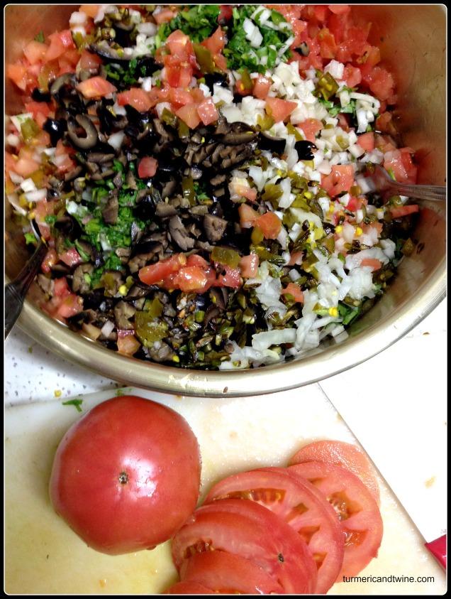 kohlrabi cilantro salsa