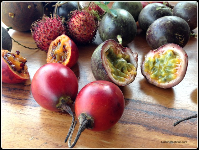 awesome tropical fruit