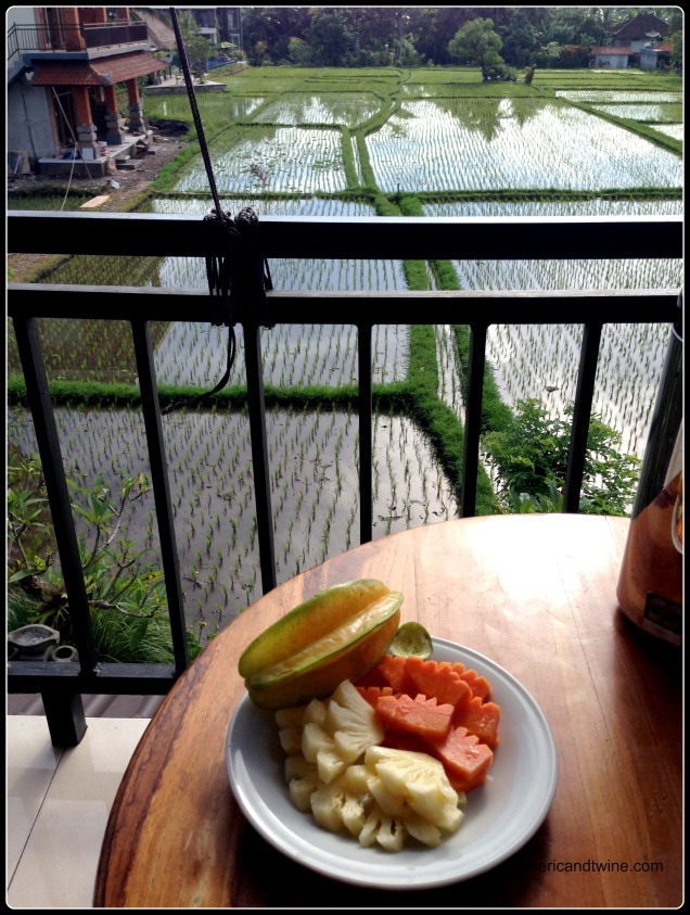 breakfast in Ubud