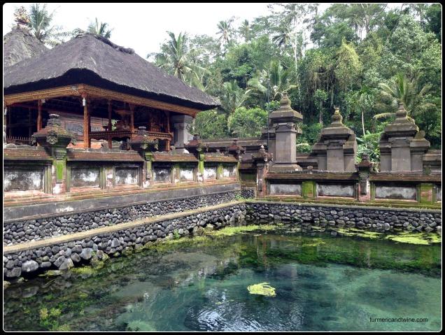 Temple spring in Bali