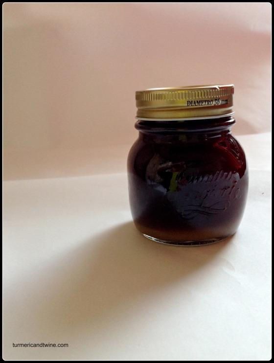 Homemade ginger syrup in jar.jpg