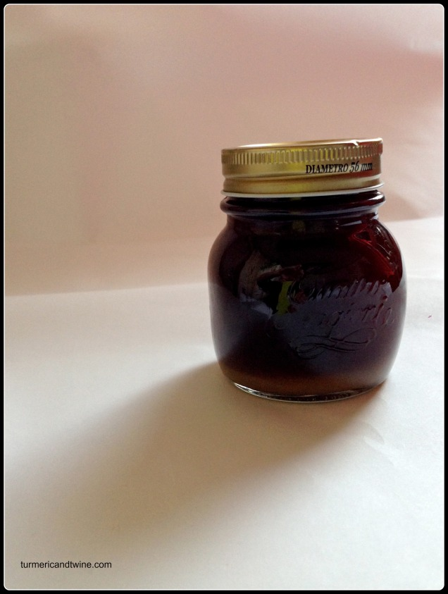Homemade ginger syrup in jar.jpg