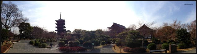 Toji temple panorama.jpg