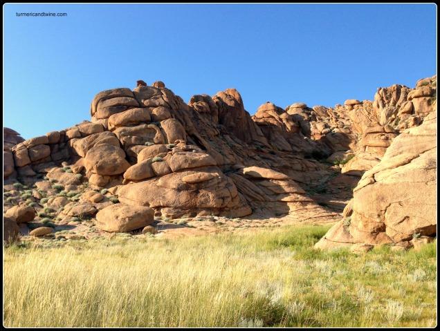 beautiful rock formations, Mongolia