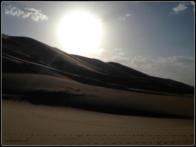 Bright Singing Dunes, Gobi Desert, Mongolia