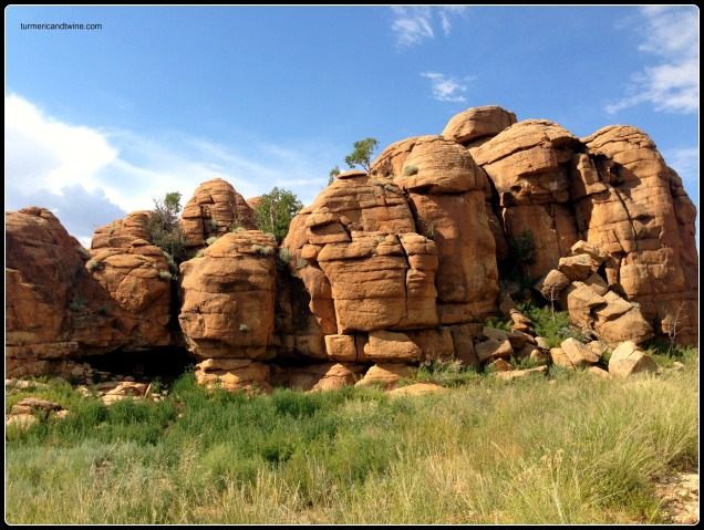 Cool rock formations, Mongolia