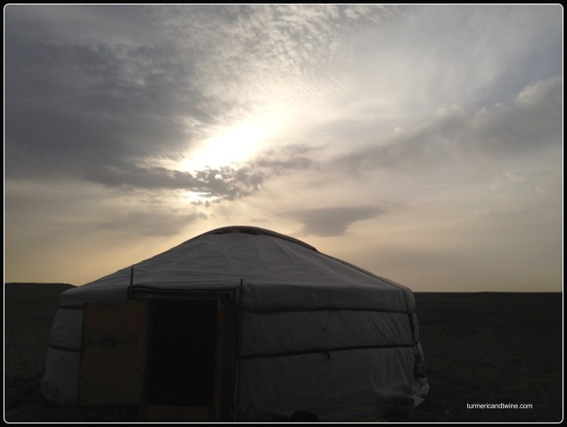 ger on the Steppe, Mongolia