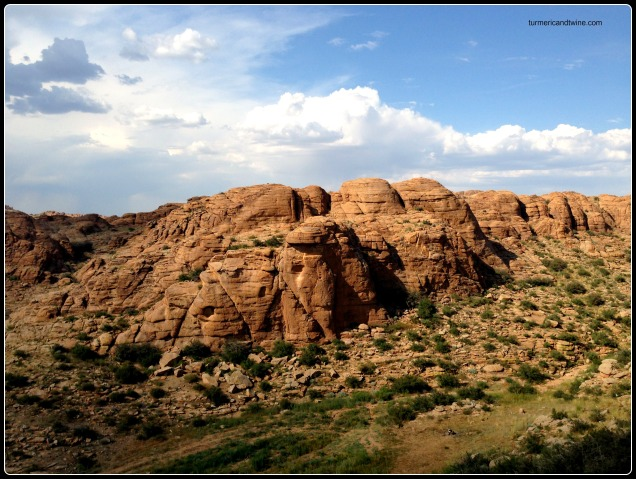 Rock formations, Mongolia