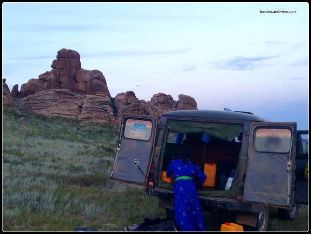 Russian van in Mongolia 2