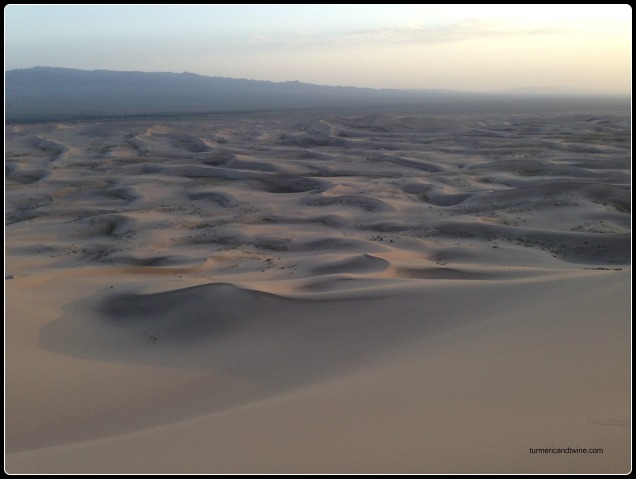 View of Gobi Desert, Mongolia