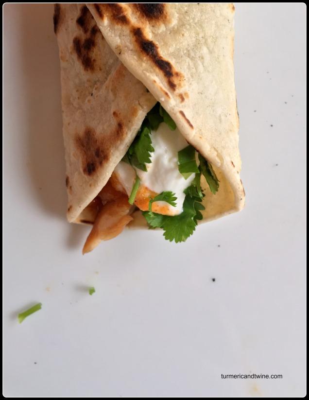 IMG_2768Pomegranate Molasses Tilapia Tacos with Fennel Kielbasa Salsa bite