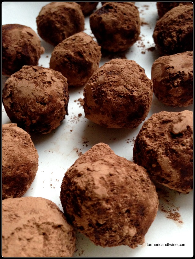 homemade yuja pomegranate truffles.jpg